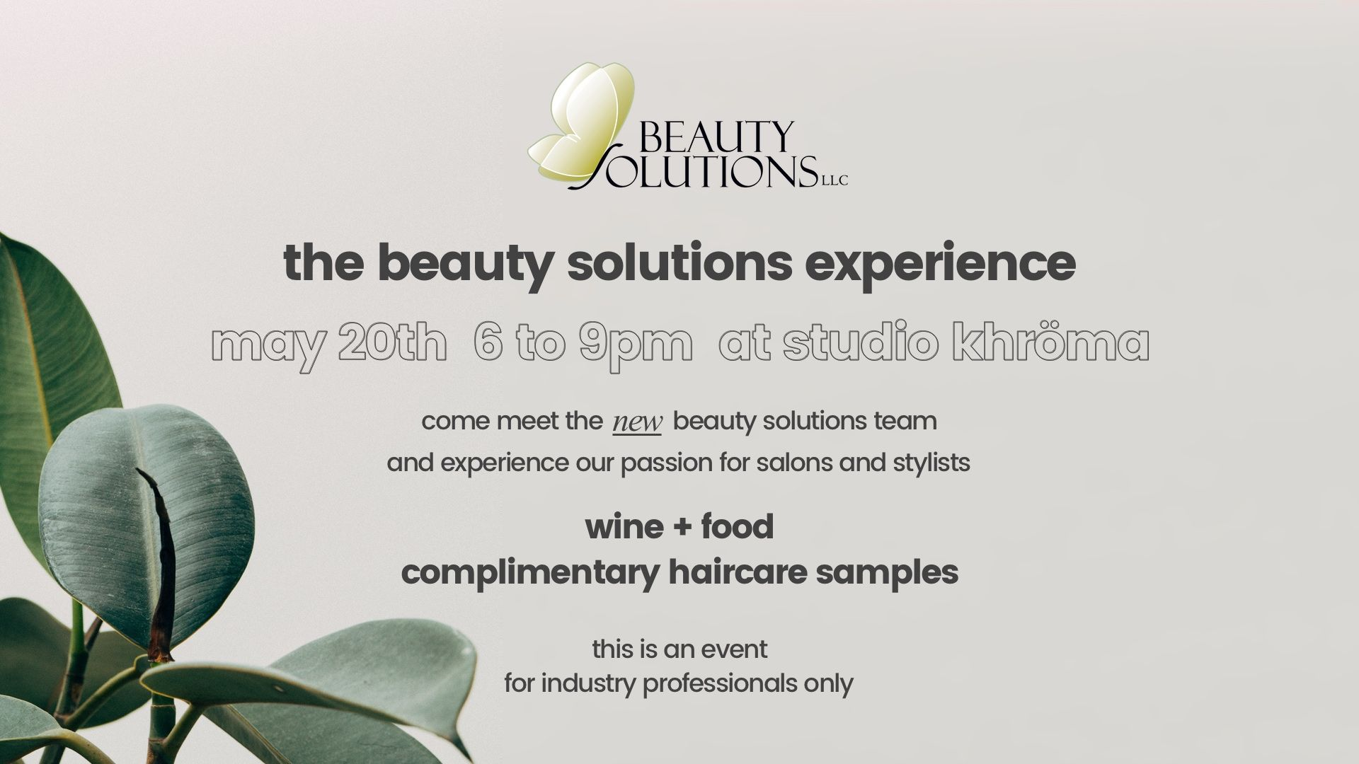 beauty solutions experience at studio khroma