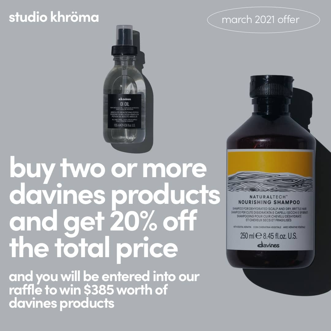 davines march 2021 offer